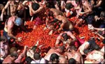 La Tomatina Festival Tomato Fight in Spain
